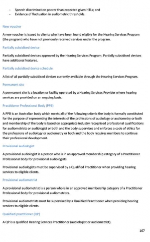 Hearing Services Program Review - Draft Report - 2021